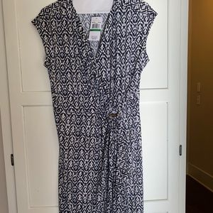 MK dress - Navy blue and white brand new dress